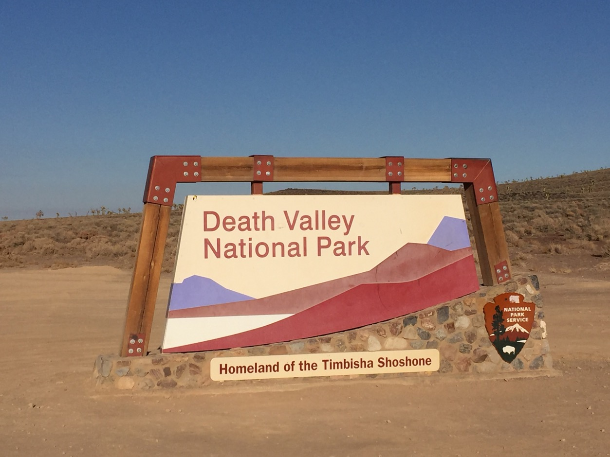 USA Death Valley Sign - 1