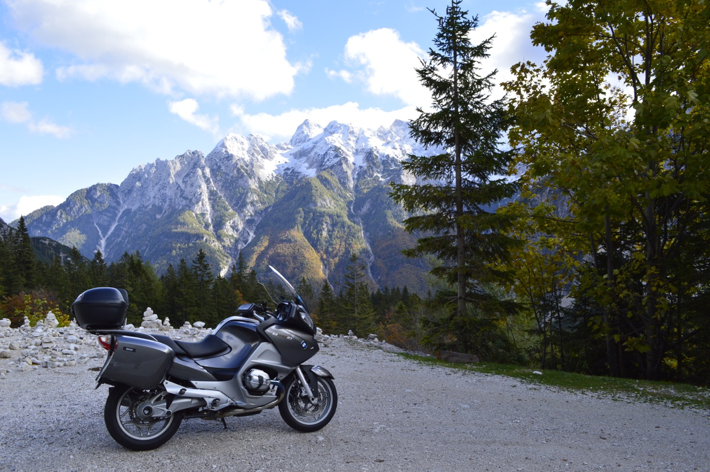 BMW in mountains Julian Alps 940 - 1